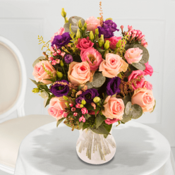 Bouquet Deep purple