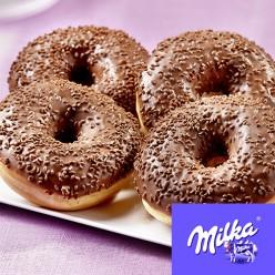 4 donuts Milka