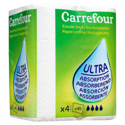 Essuie-tout ultra absorption Carrefour