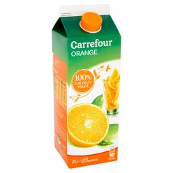 Jus d'orange 100% pur fruit pressé Carrefour