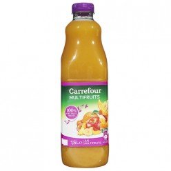 Jus de fruits multifruits Carrefour