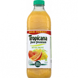 Jus de fruits orange/mandarine/raisin Tropicana