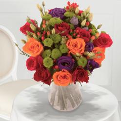 Bouquet Pop art
