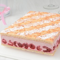Macaron framboises - 6 parts