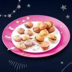 Assortiment de 20 minis macarons