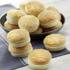 12 minis pains burger