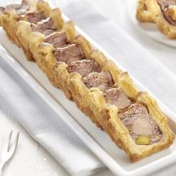 16 tranches de minis pâtés en croûte au foie de canard
