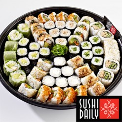 Plateau Sushi Fusion Lovers - 61 pièces