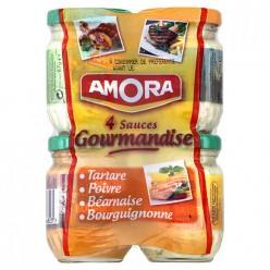4 sauces assorties Amora