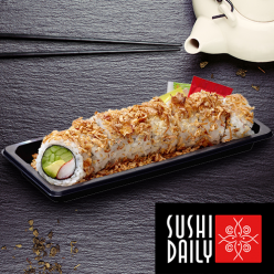 8 Crunch california rolls surimi