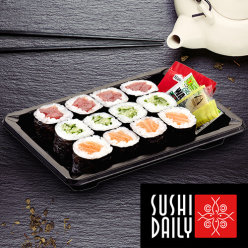 Assortiment de 12 makis