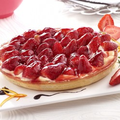 Tarte aux fraises - 6 parts