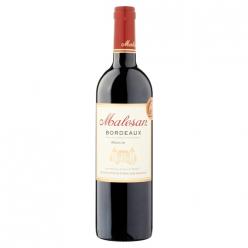 Vin rouge Bordeaux 2015 Malesan