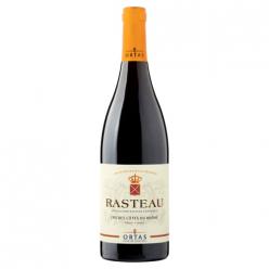 Vin rouge Rasteau cru des Côtes du Rhône Ortas