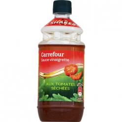 Vinaigrette tomates séchées Carrefour