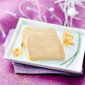 2 tranches de foie gras de canard entier du Sud Ouest
