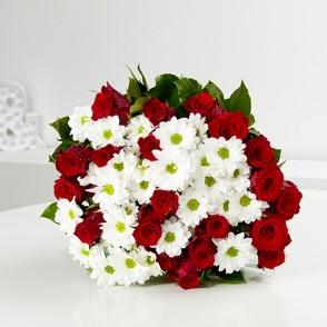 Bouquet Aube rouge