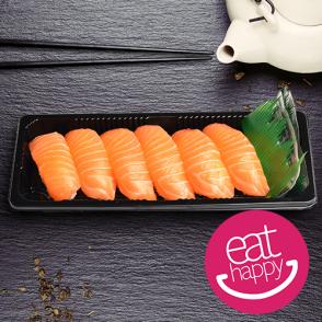 6 sushis au saumon