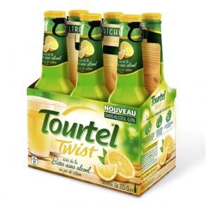 6 Bières au citron sans alcool Tourtel