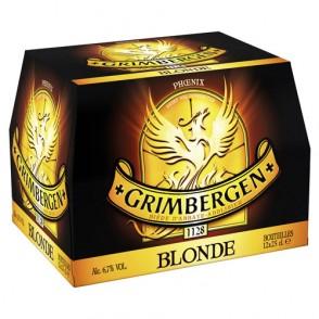 12 Bières blondes Grimbergen