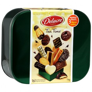 Biscuits Tea Time - 16 recettes originales Delacre