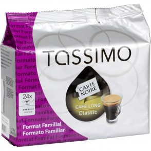 Café capsules Long Classic Tassimo