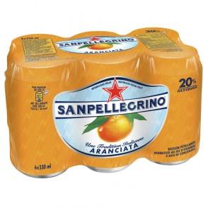 Eau gazeuse orange Sanpellegrino