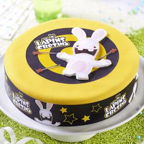 Gâteau Les Lapins Crétins