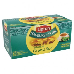 Infusion réglisse menthe Lipton
