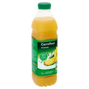 Jus d'ananas 100% pur fruit pressé Carrefour