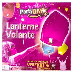 Lanterne volante violette