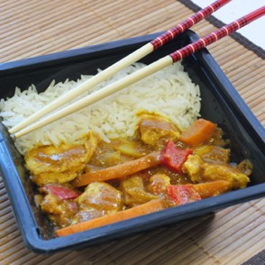 Poulet Thai et riz