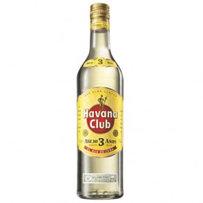 Rhum cubain 3 ans d'âge Havana Club