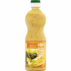 Sauce vinaigrette moutarde Carrefour