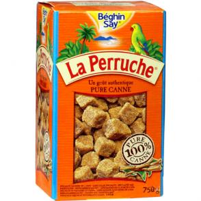 Sucre en morceaux pure canne La Perruche