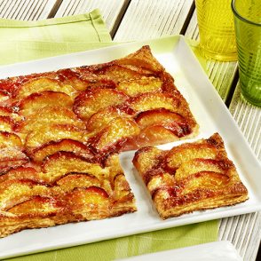 Tarte fine aux nectarines - 6 parts