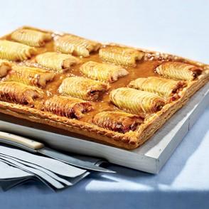 Tarte vergeoise aux pommes - 12/15 parts