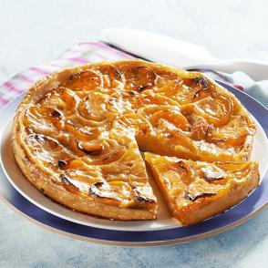 Tarte vergeoise aux abricots - 6 parts