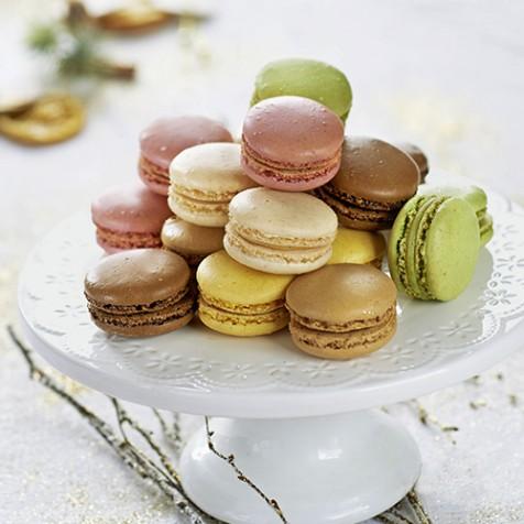 18 Macarons