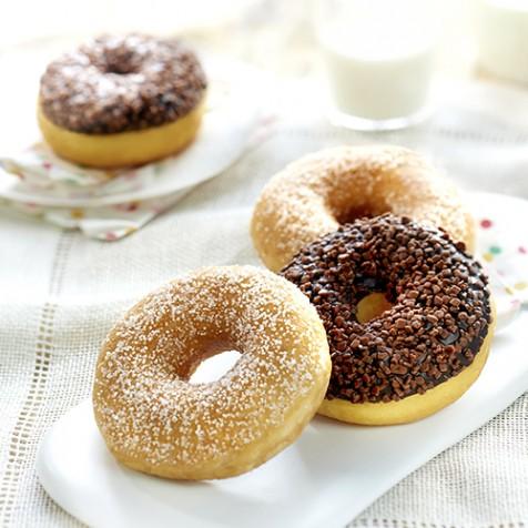 4 donuts assortis
