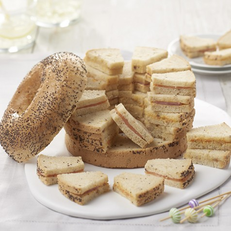 bagel surprise 40 toasts - Carrefour Traiteur Mariage