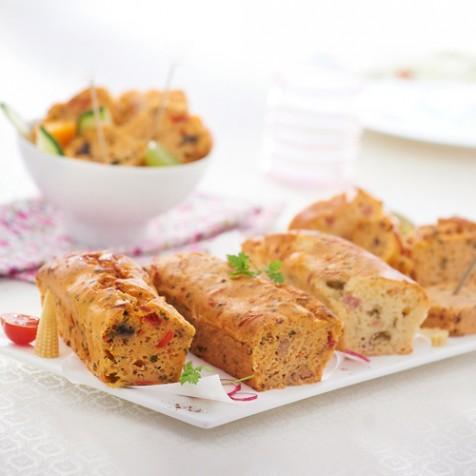 Cake apéritif au thon