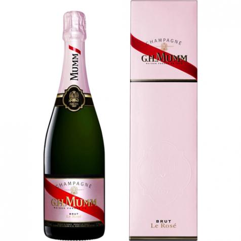 Champagne, Rosé Mumm & Etui
