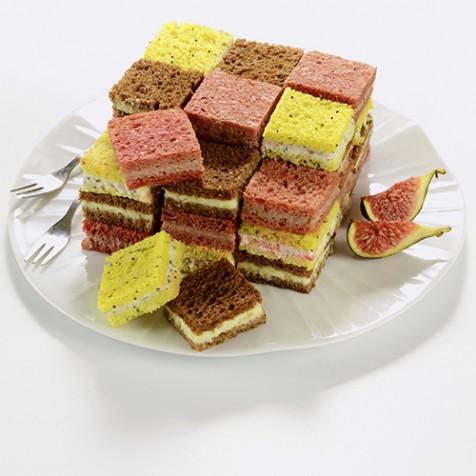 cube couleur 36 toasts - Carrefour Traiteur Mariage