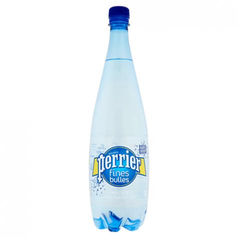 Eau gazeuse minérale naturelle fines bulle Perrier