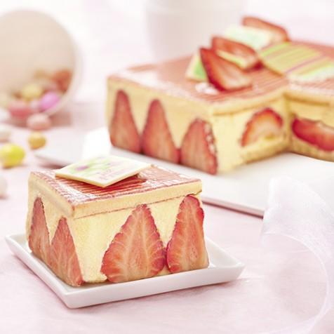 fraisier 1012 parts - Carrefour Traiteur Mariage