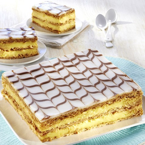 Millefeuille - 6/8 parts