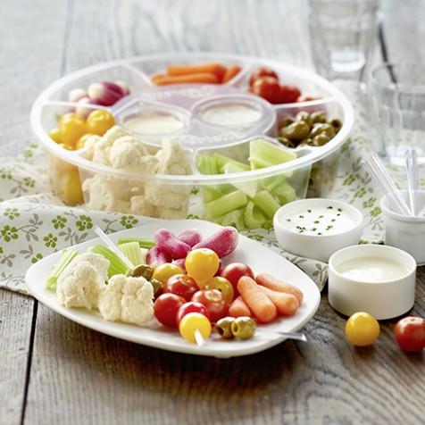 Plateau de légumes apéritif