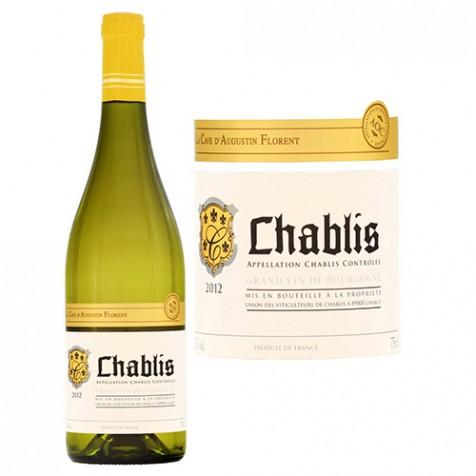 Vin blanc Chablis 2012 Cave Augustin Florent