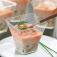 6 Verrines tartare de concombre et surimi (Image n°1)